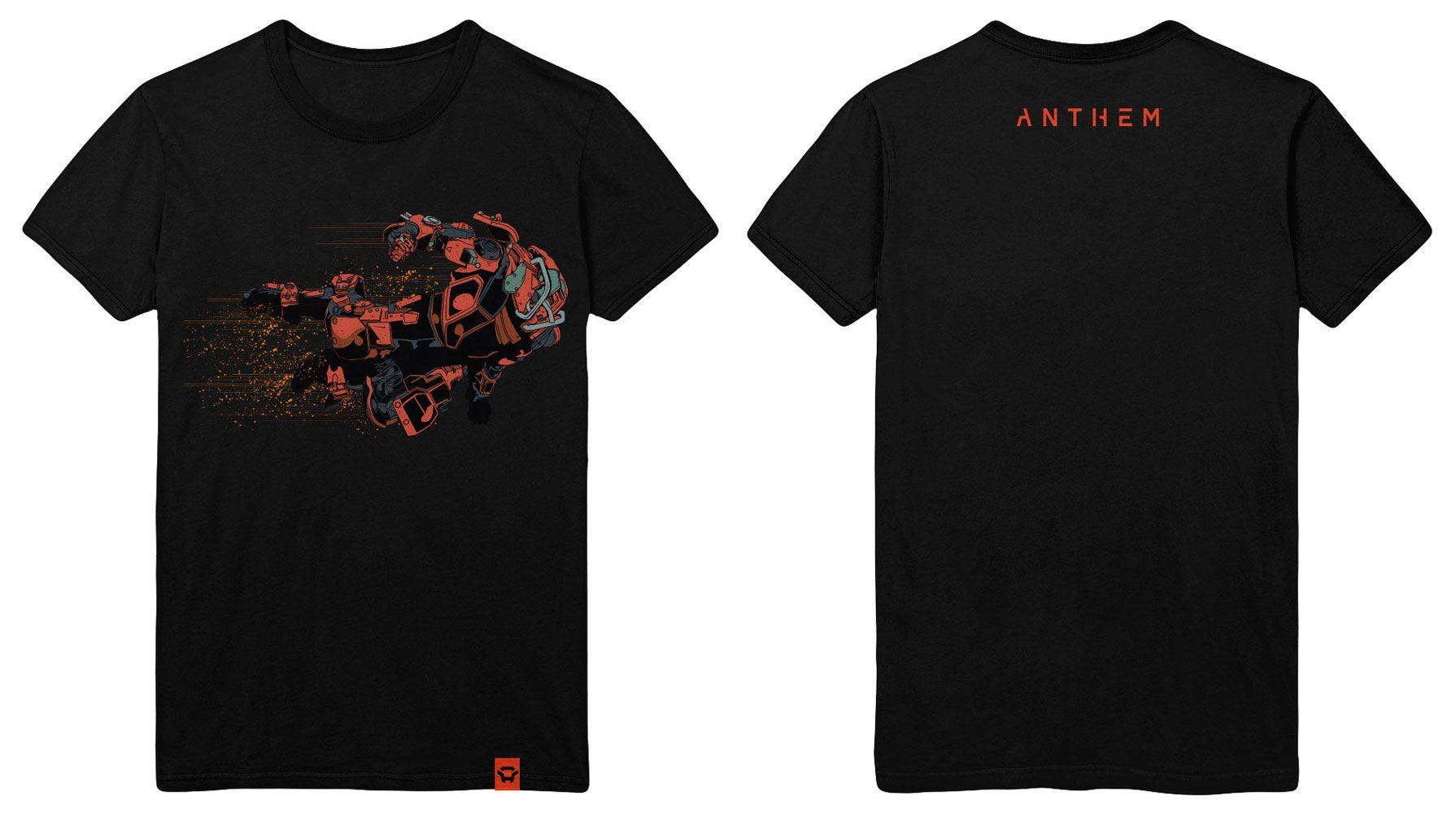 Anthem T-Shirt Storm Class Size L