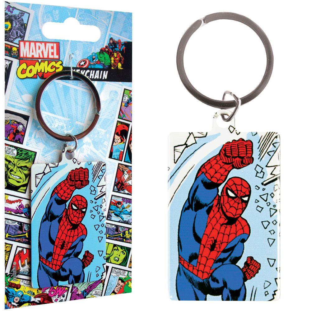 Marvel Comics Metal Keychain Spider-Man 6 cm
