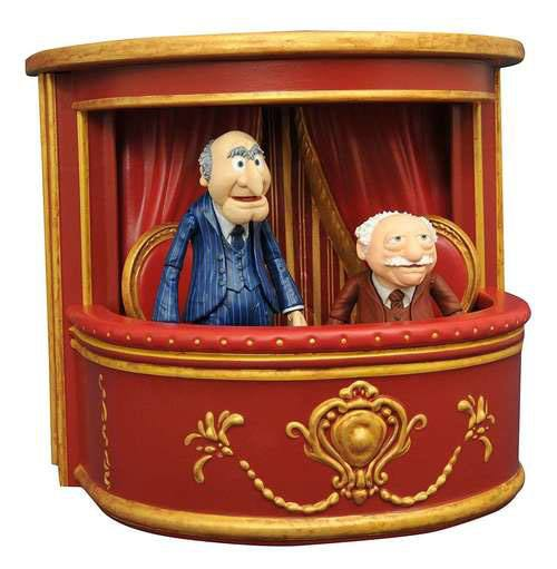 The Muppets Select Action Figures 13 cm 2-Pack Series 2 Statler & Waldorf