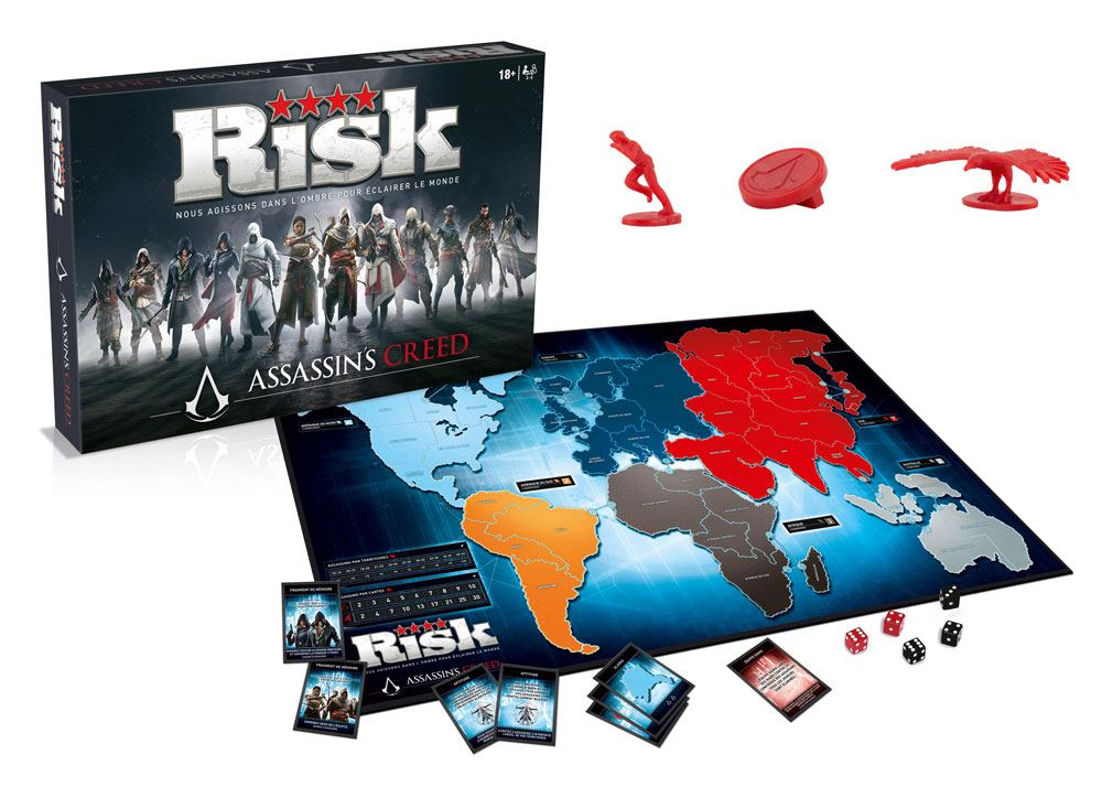 Assassin's Creed Board Game Risk *French Version*