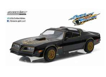 Smokey and the Bandit Diecast Model 1/24 1977 Pontiac Trans Am black/gold