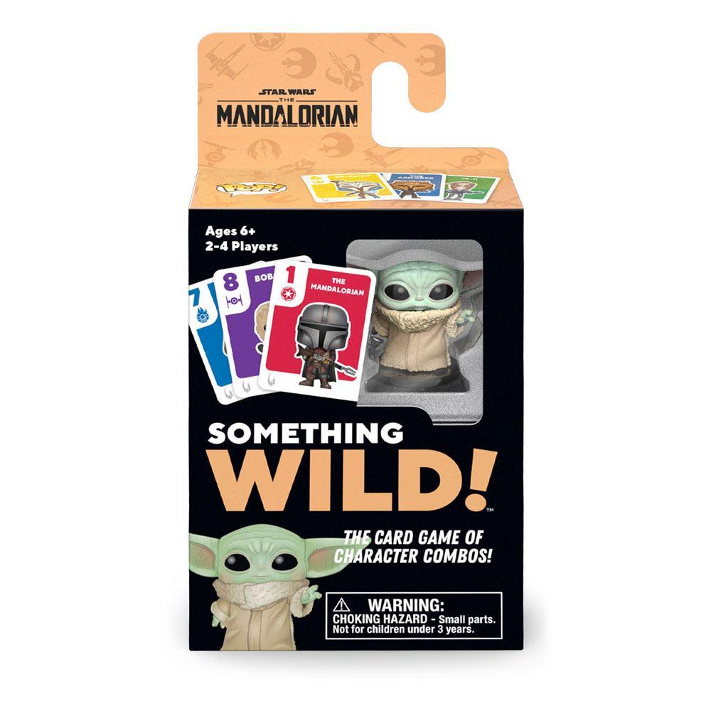 Star Wars The Mandalorian Card Game Something Wild! Grogu Case (4) DE/ES/IT Version
