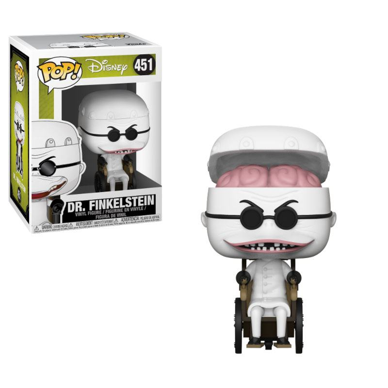 Nightmare before Christmas POP! Movies Vinyl Figure Dr. Finklestein 9 cm
