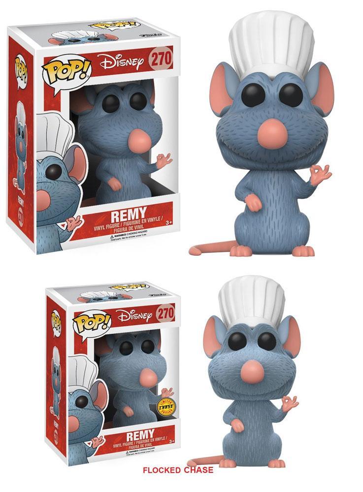 Ratatouille POP! Disney Figures Remy 9 cm Assortment (6)