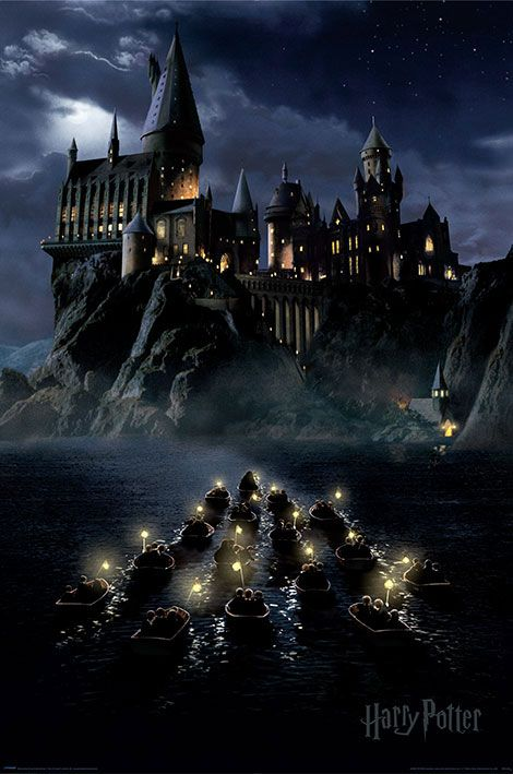Harry Potter Poster Pack Hogwarts Boats 61 x 91 cm (5)
