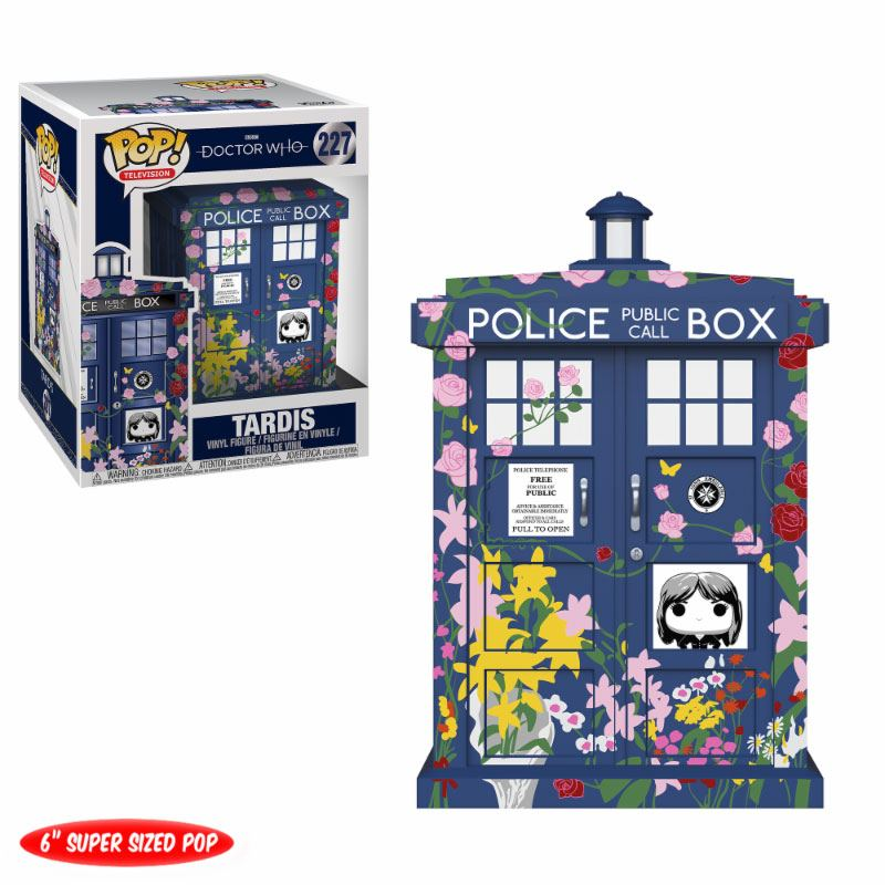 Doctor Who Super Sized POP! TV Vinyl Figure Clara's Memorial Tardis 15 cm