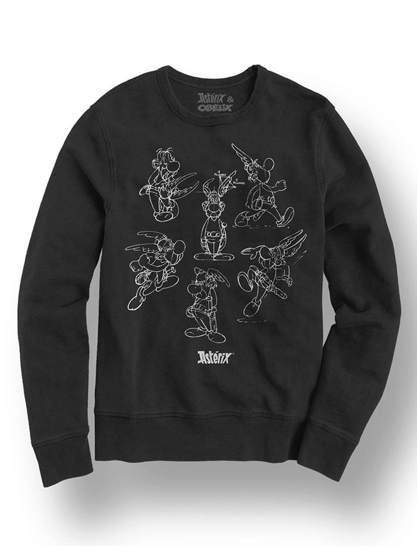 Asterix Sweatshirt Character Size L
