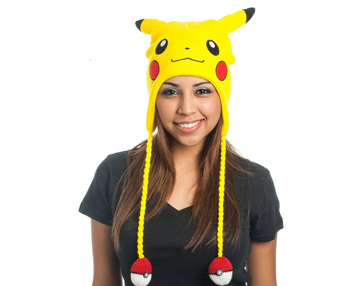 Pokemon Ski Beanie Yellow Laplander Pikachu