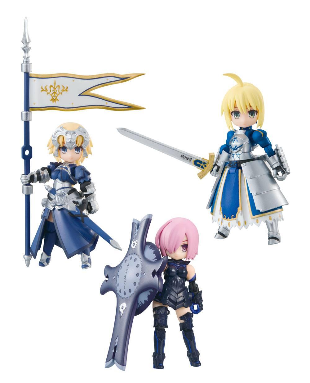 Fate/Grand Order Desktop Army Figures 8 cm Assortment Masch & Altria & Jeanne (3)