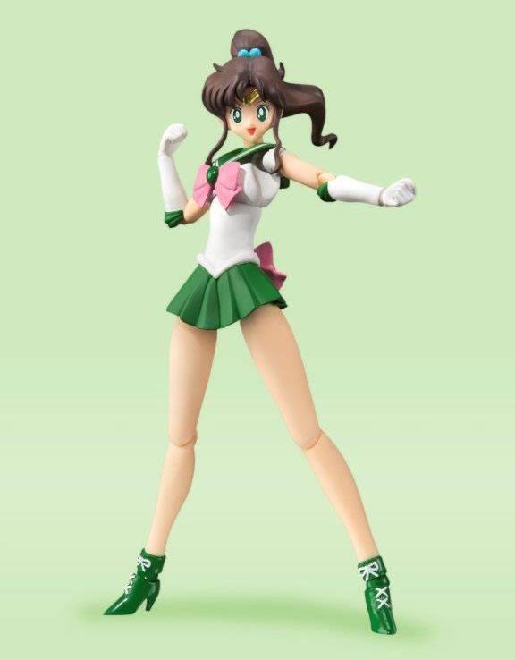 Sailor Moon S.H. Figuarts Action Figure Sailor Jupiter Animation Color Edition 14 cm