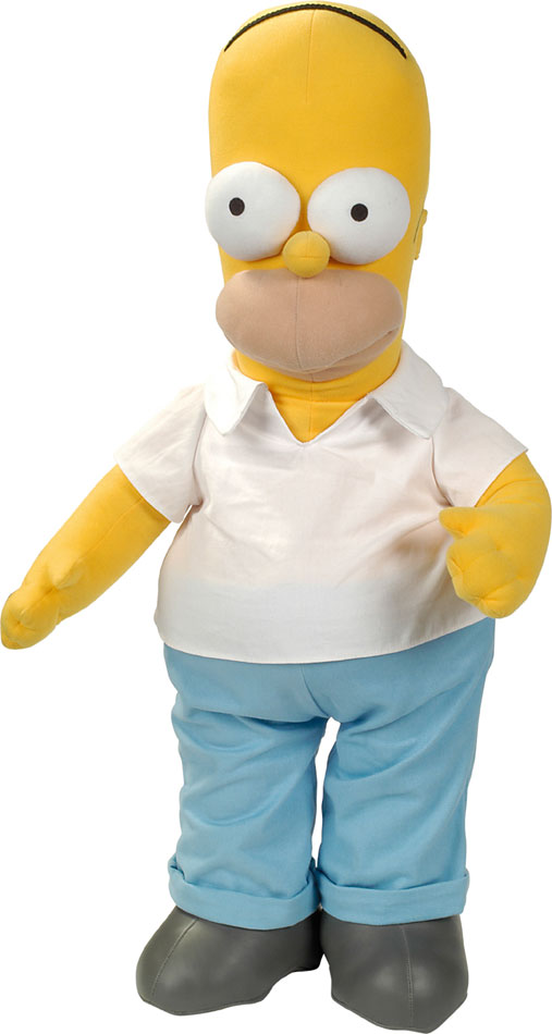 Simpsons Plush Figure Homer 38 cm