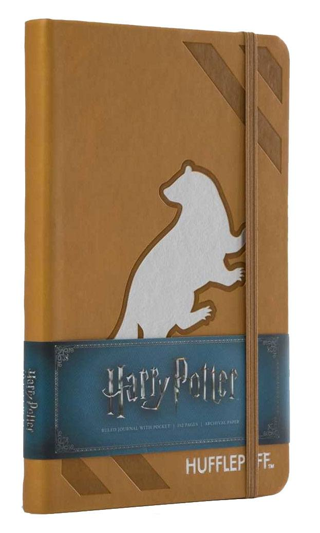 Harry Potter Hardcover Ruled Journal Hufflepuff New Design