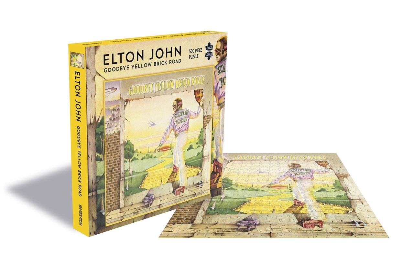 Elton John Puzzle Goodbye Yellow Brick Road