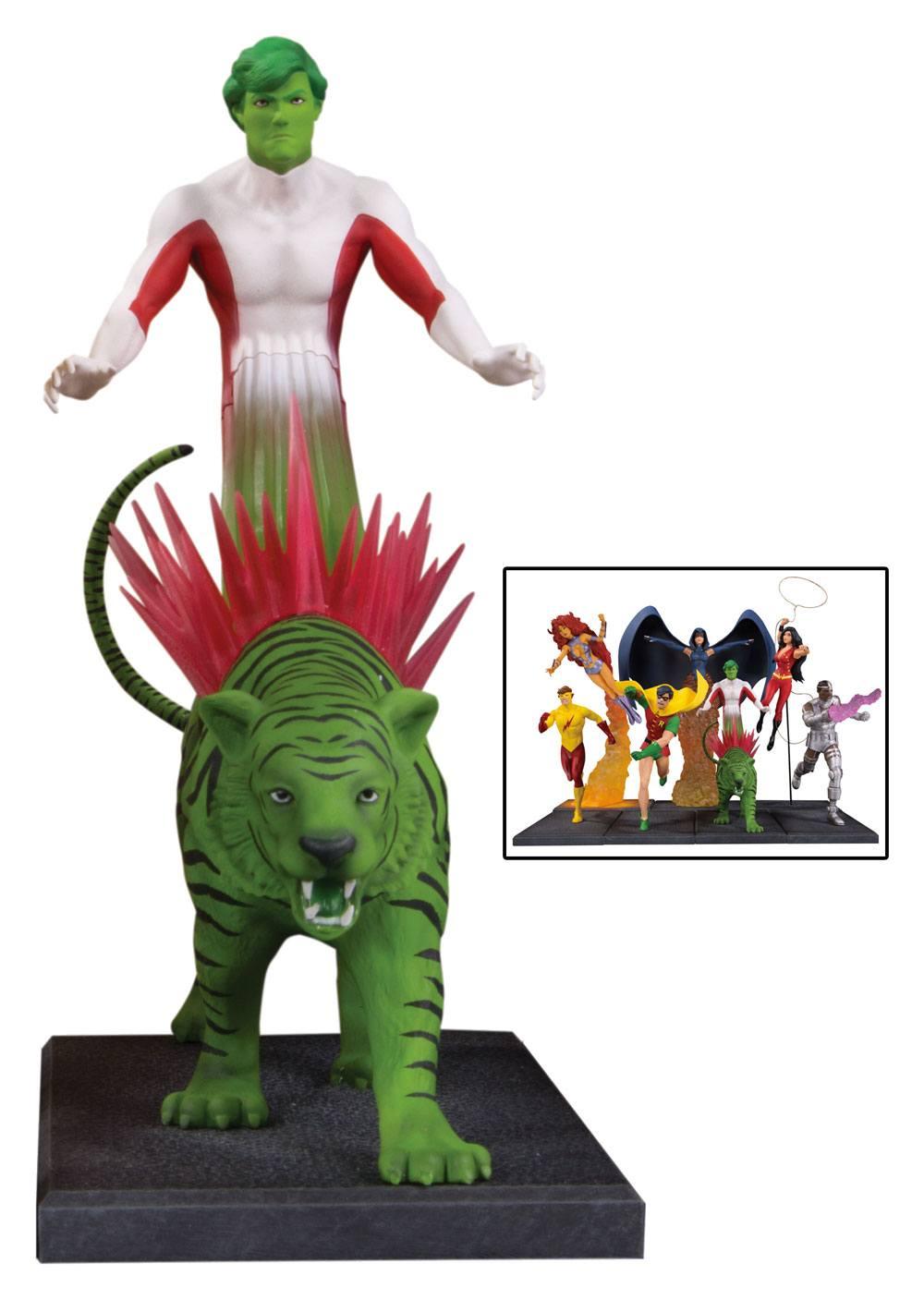 Teen Titans Multi-Part Statue Beast Boy 20 cm (Part 3 of 7)