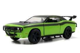 Fast & Furious 7 Diecast Model 1/32 2008 Dodge Challenger Green