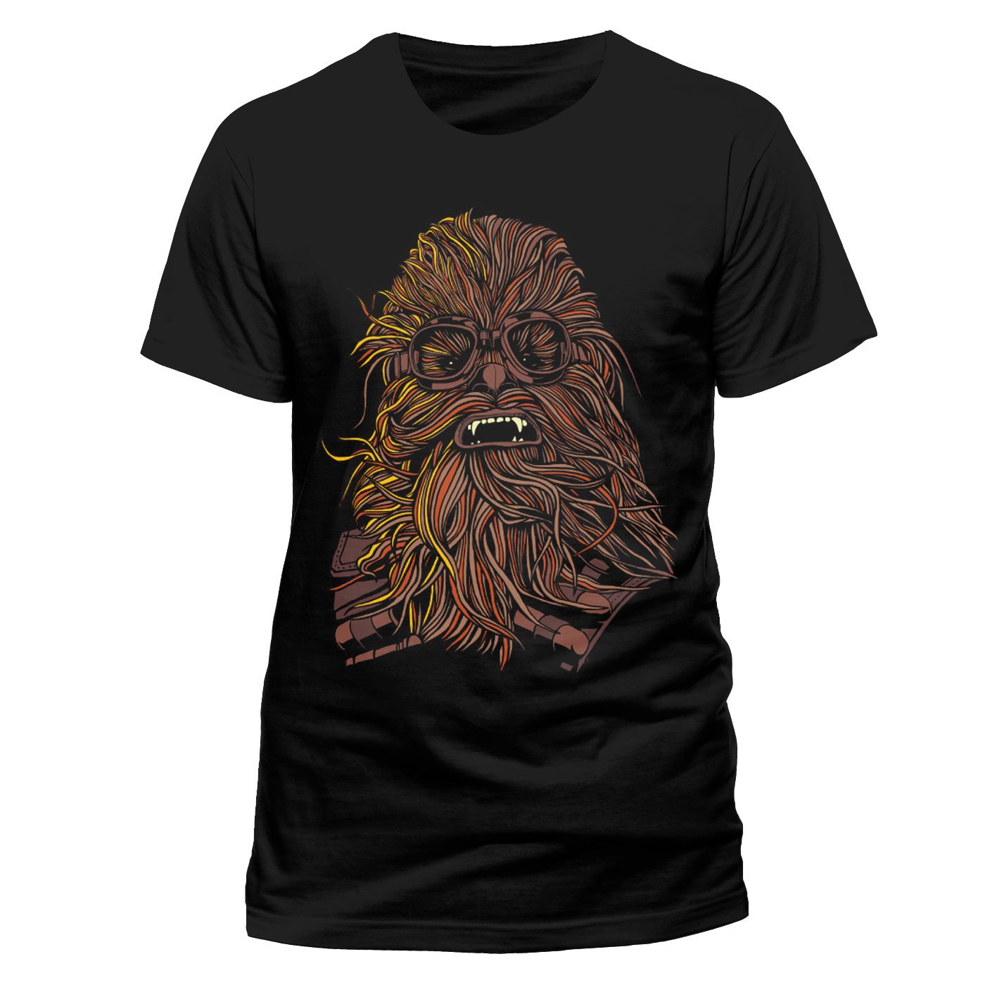 Star Wars Solo T-Shirt Chewie Goggles Size S