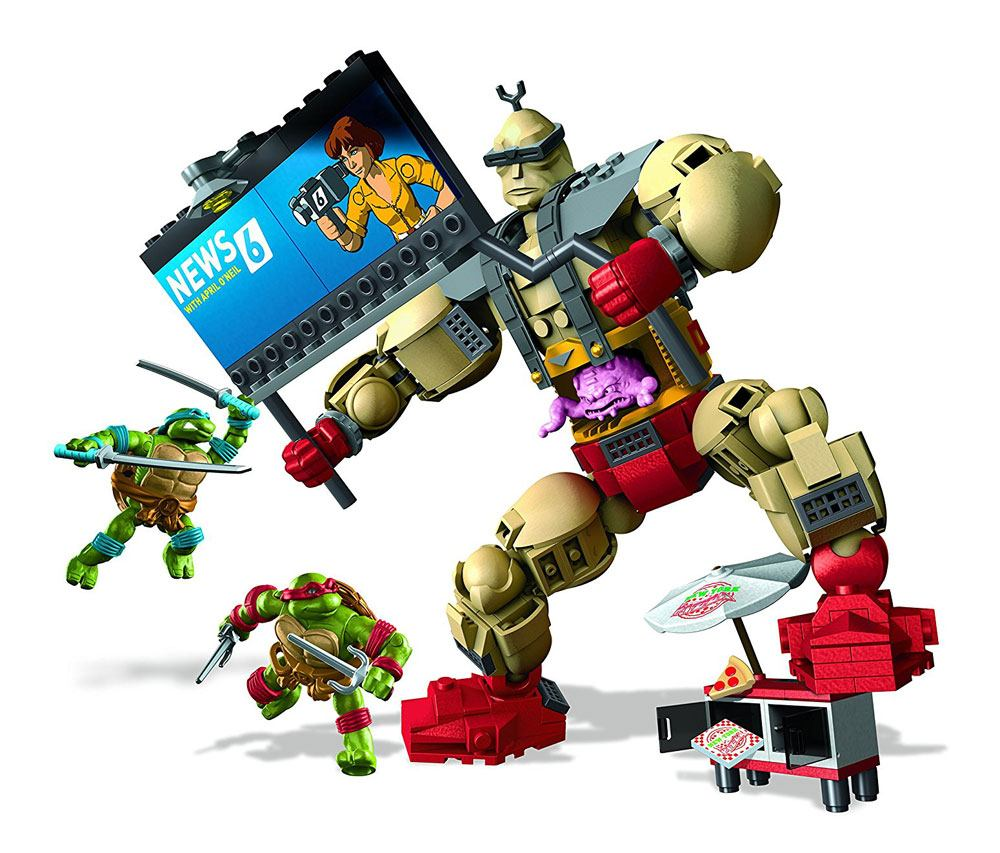 Teenage Mutant Ninja Turtles Mega Bloks Construction Set Krang's Rampage