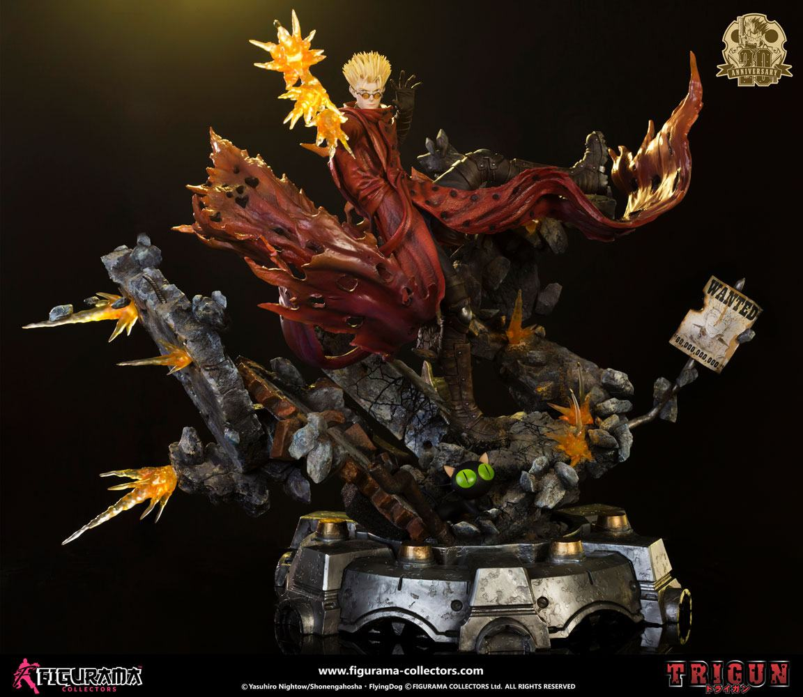 Trigun Elite Exclusive Statue 1/4 Vash 20th Anniversary Edition 65 cm