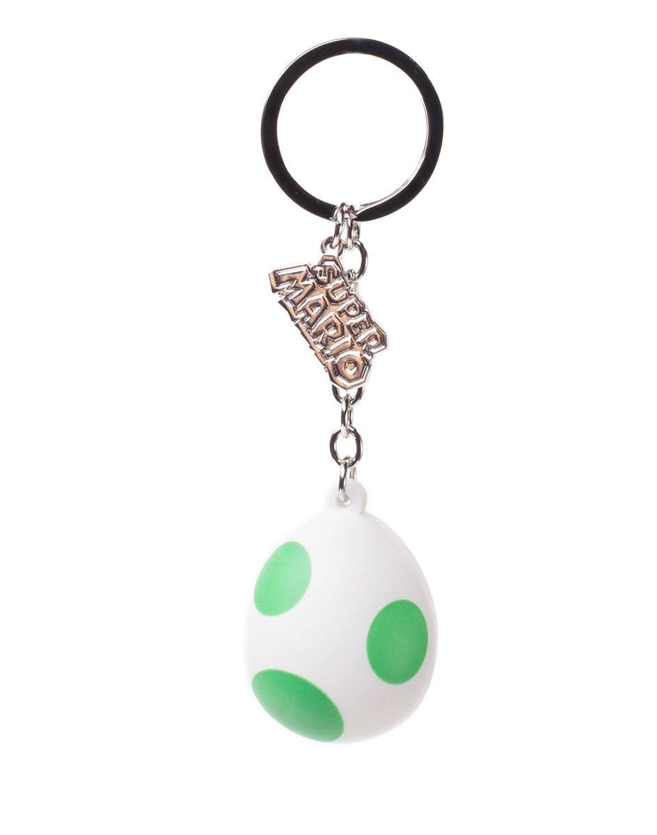Nintendo Rubber Keychain Yoshi's Egg 7 cm