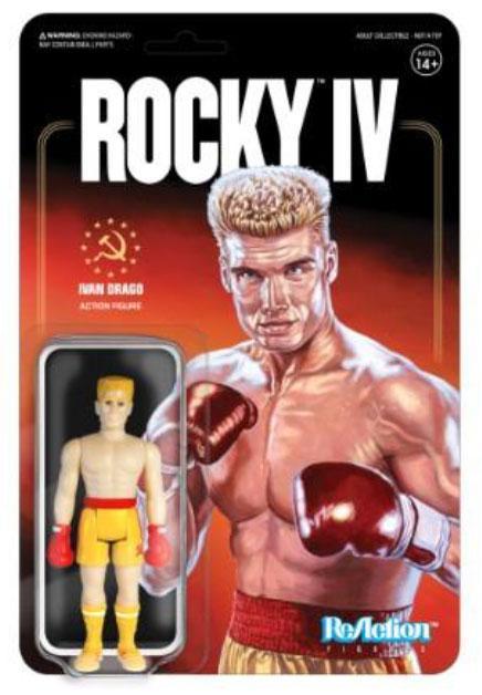 Rocky 4 ReAction Action Figure Ivan Drago 10 cm