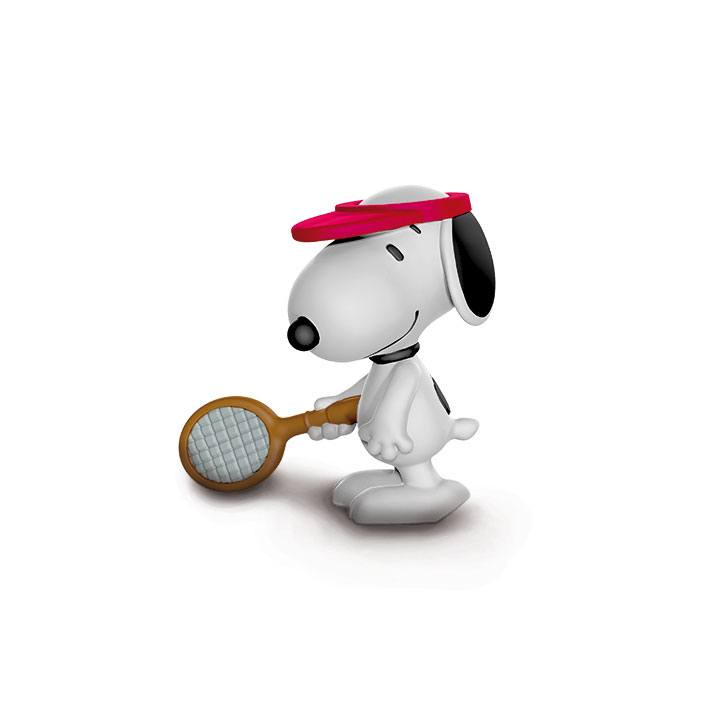 Peanuts Figure Tennis Player Snoopy 5 cm