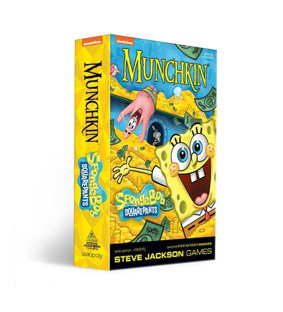 Munchkin Card Game Spongebob *English Version*