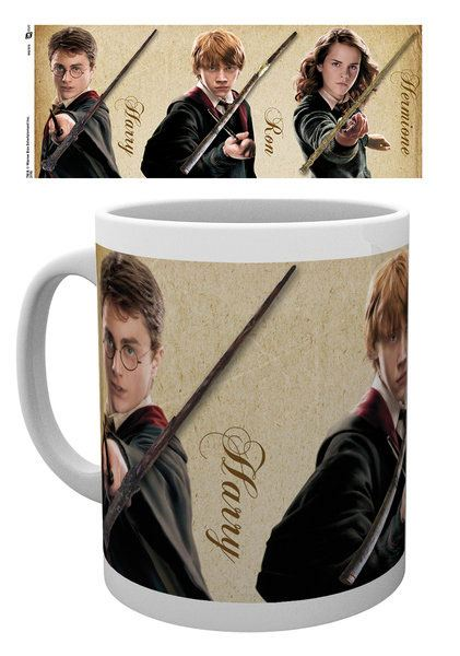 Harry Potter Mug Wands