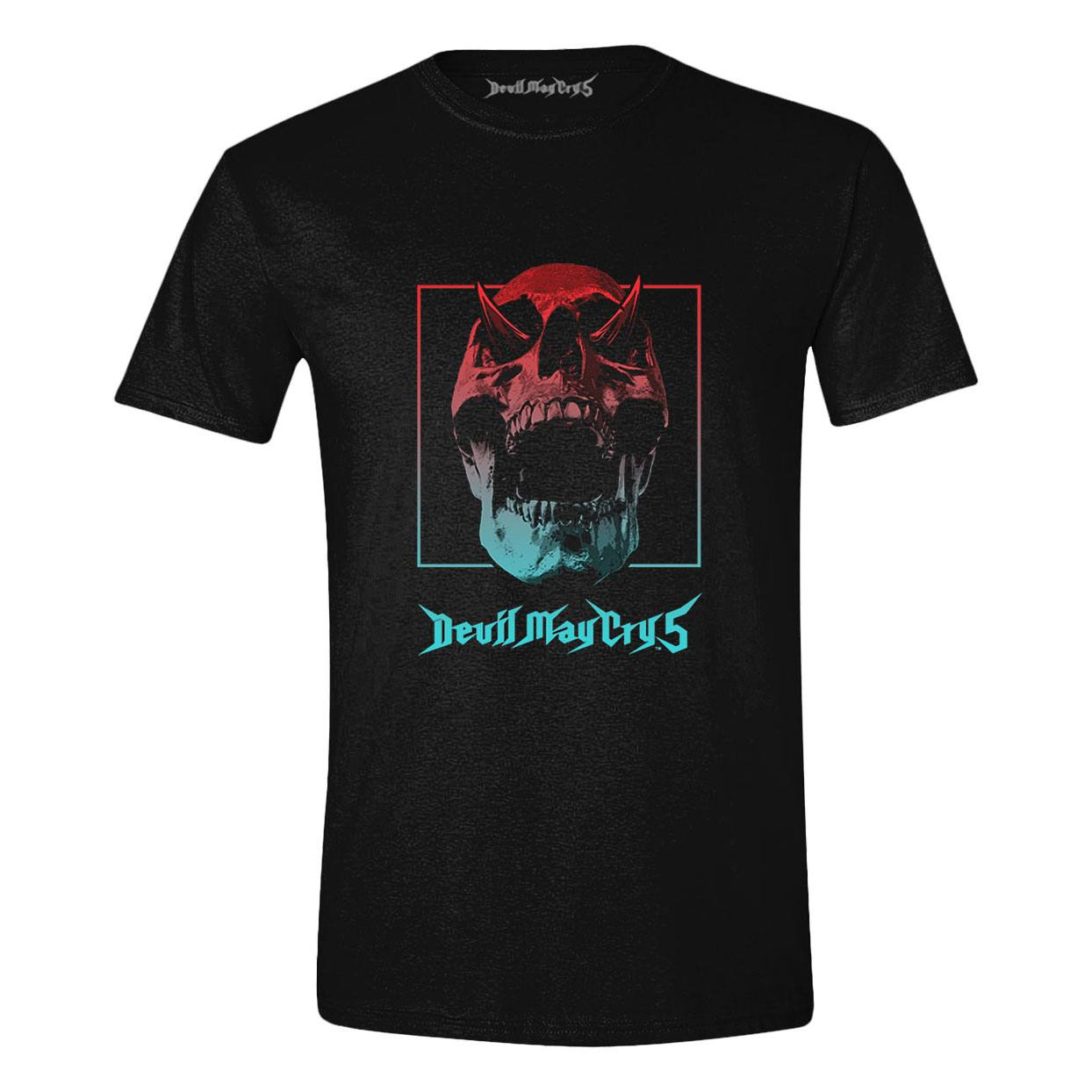 Devil May Cry 5 T-Shirt Skull Gradient Size L