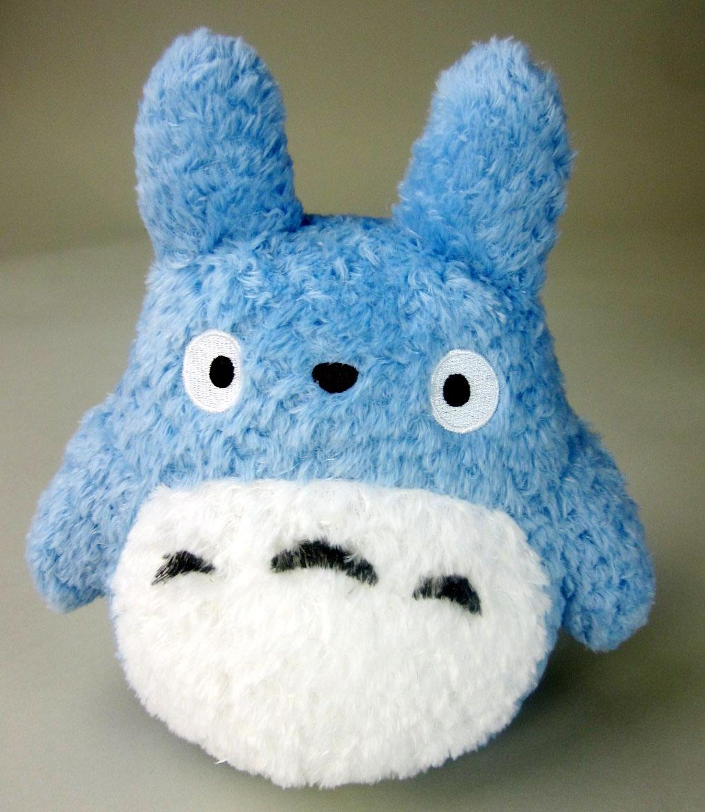 Studio Ghibli Plush Figure Fluffy Medium Totoro 22 cm
