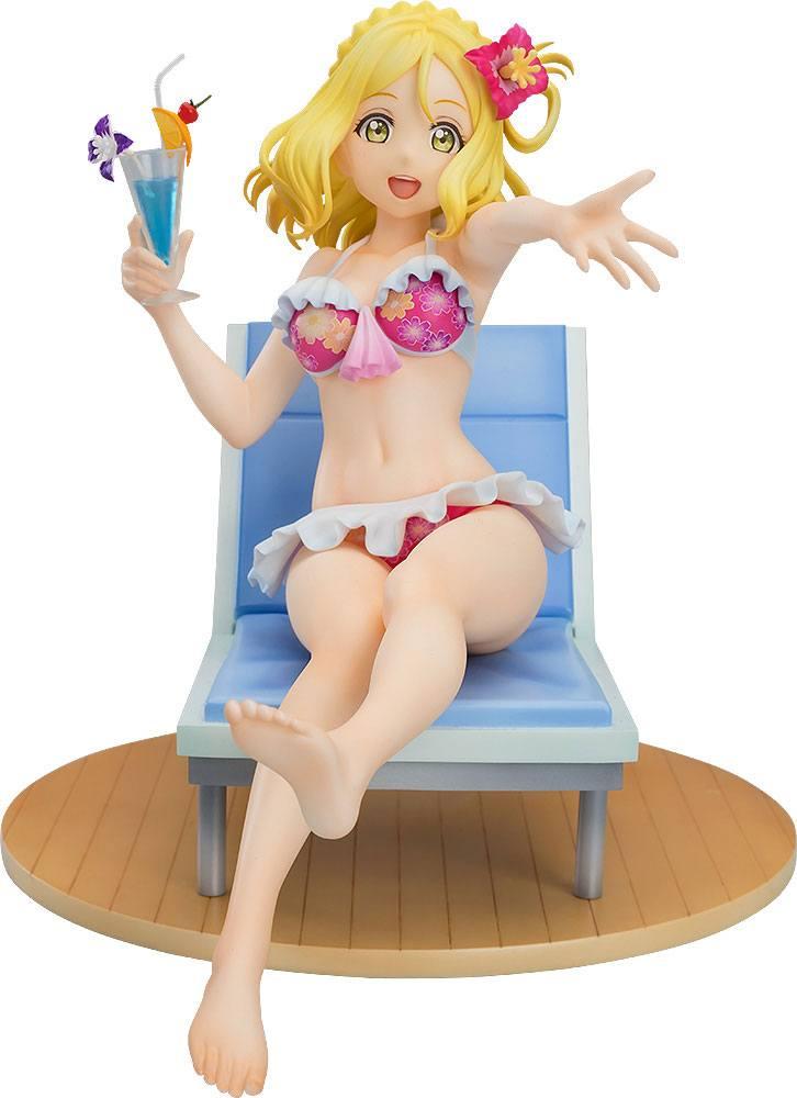 Love Live!Sunshine!! PVC Statue 1/7 Mari Ohara Blu-ray Jacket Ver. 15 cm
