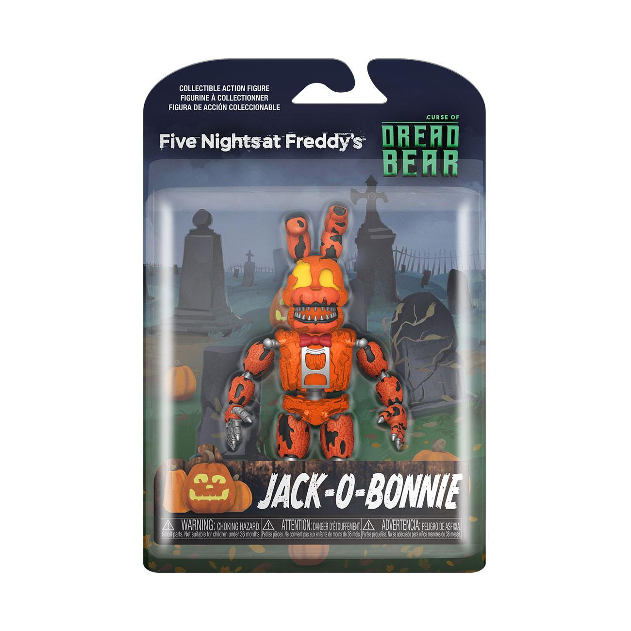 Five Nights at Freddy's Dreadbear Action Figure Jack-o-Bonnie 13 cm
