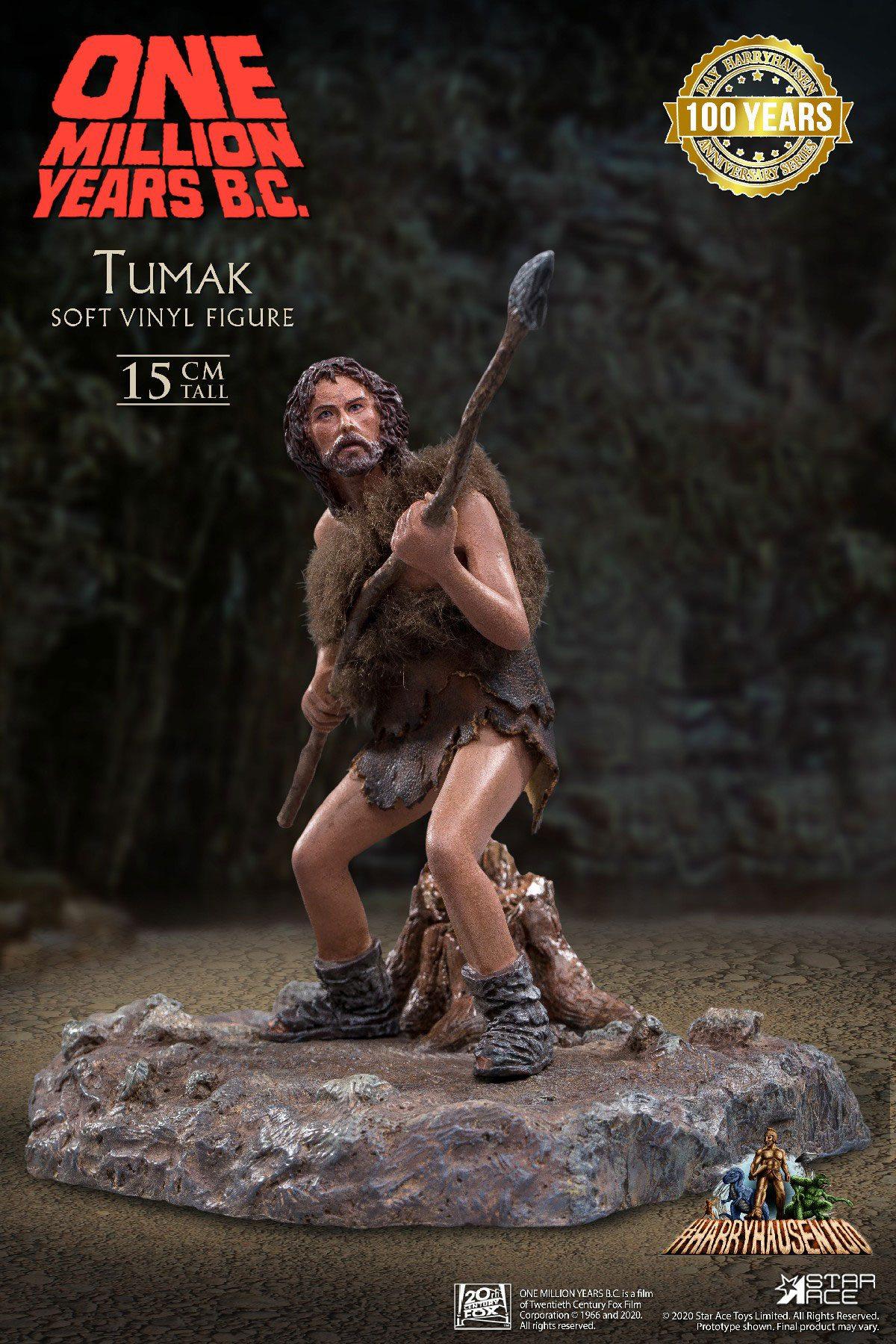 One Million Years B.C. Soft Vinyl Statue Tumak 15 cm