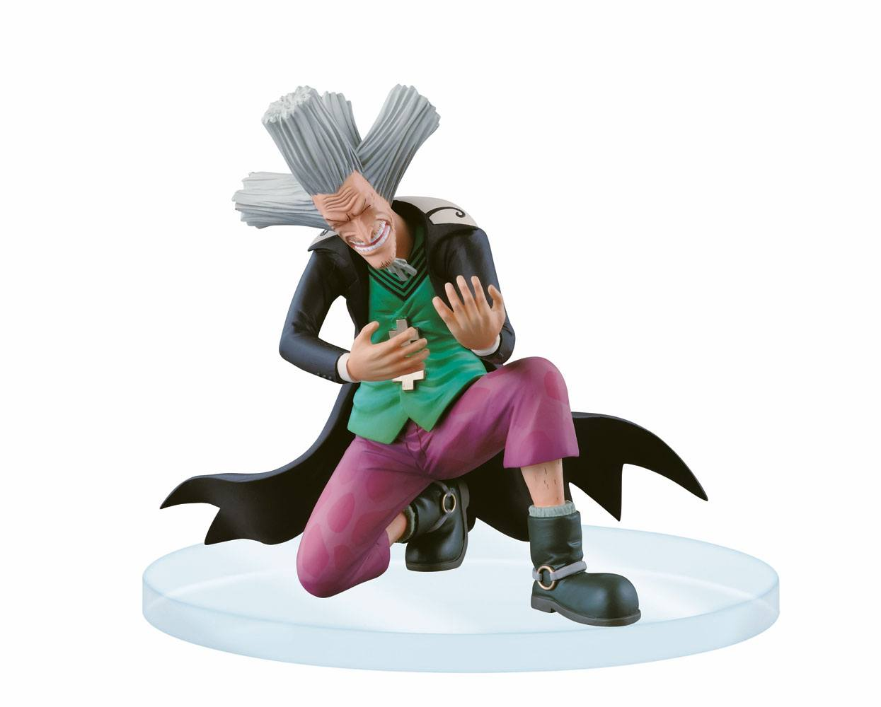 One Piece Dramatic Showcase Figure Dr. Hiluluku 10 cm --- DAMAGED PACKAGING
