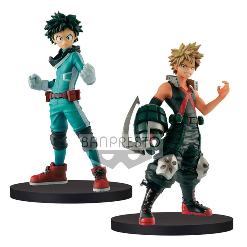 My Hero Academia DXF Figures 15 cm Izuki Midoriya & Katsuki Bakugo Assortment (2)