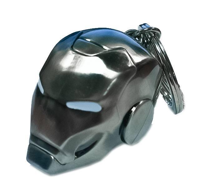 Marvel Comics Metal Keychain Iron Man Helmet Mark II