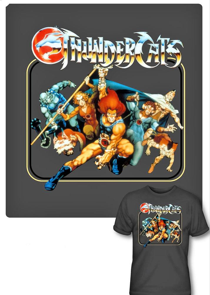Thundercats T-Shirt Square Group Size XL