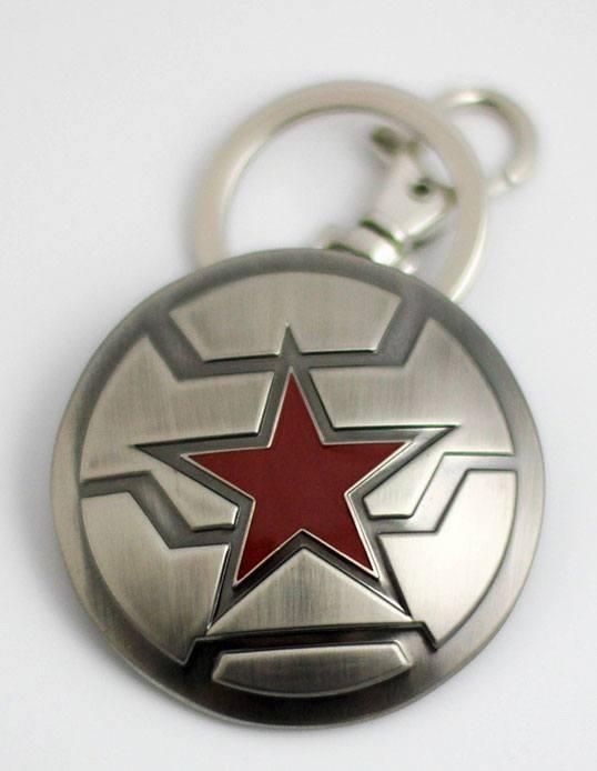 Marvel Comics Metal Keychain Winter Soldier