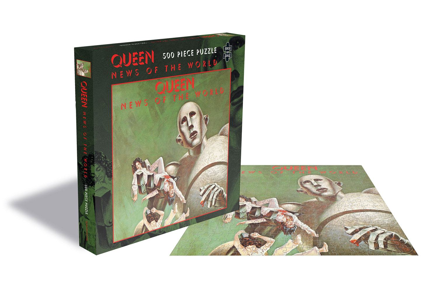 Queen Puzzle News of the World
