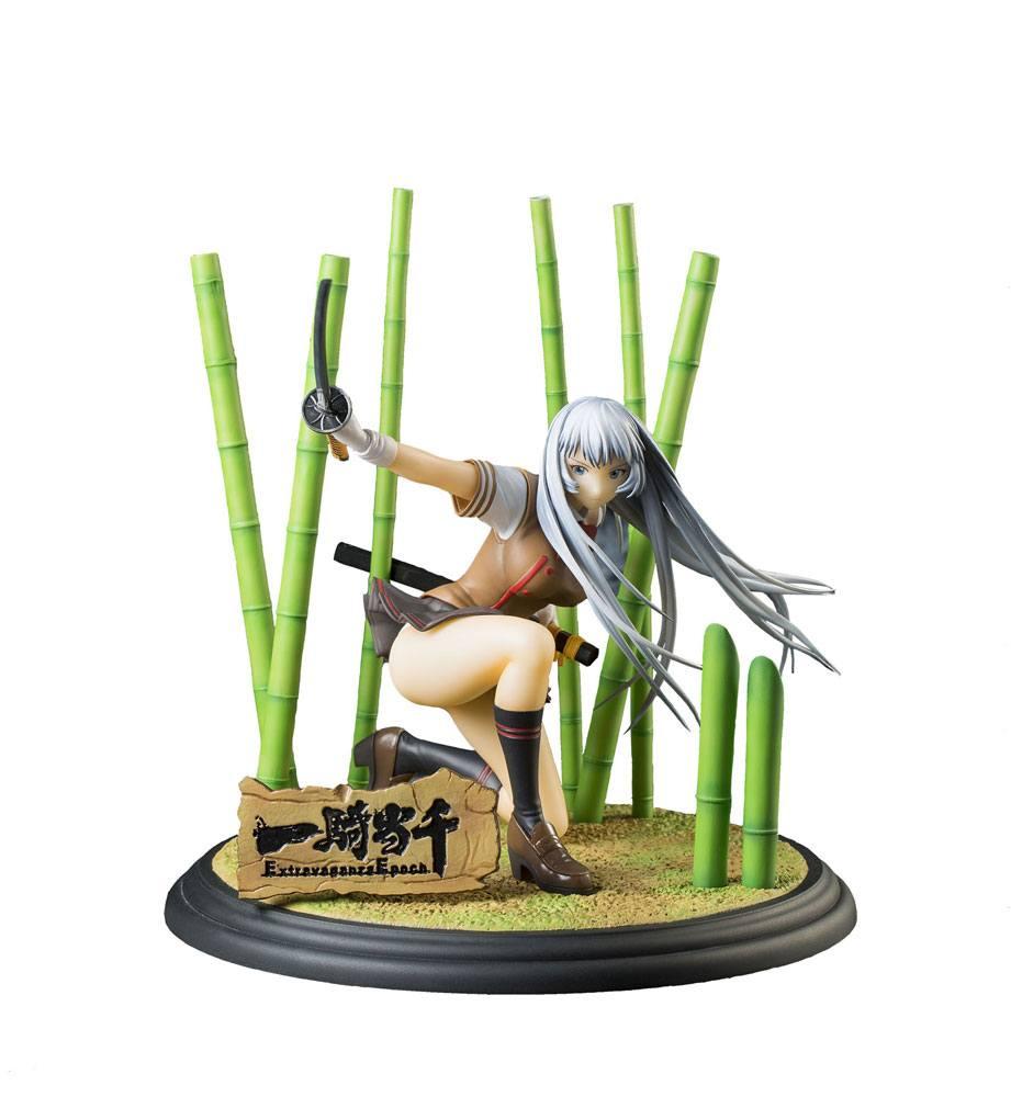 Ikki Tousen Extravaganza Epoch Statue PVC 1/8 Shiryuu Chou'un 13 cm