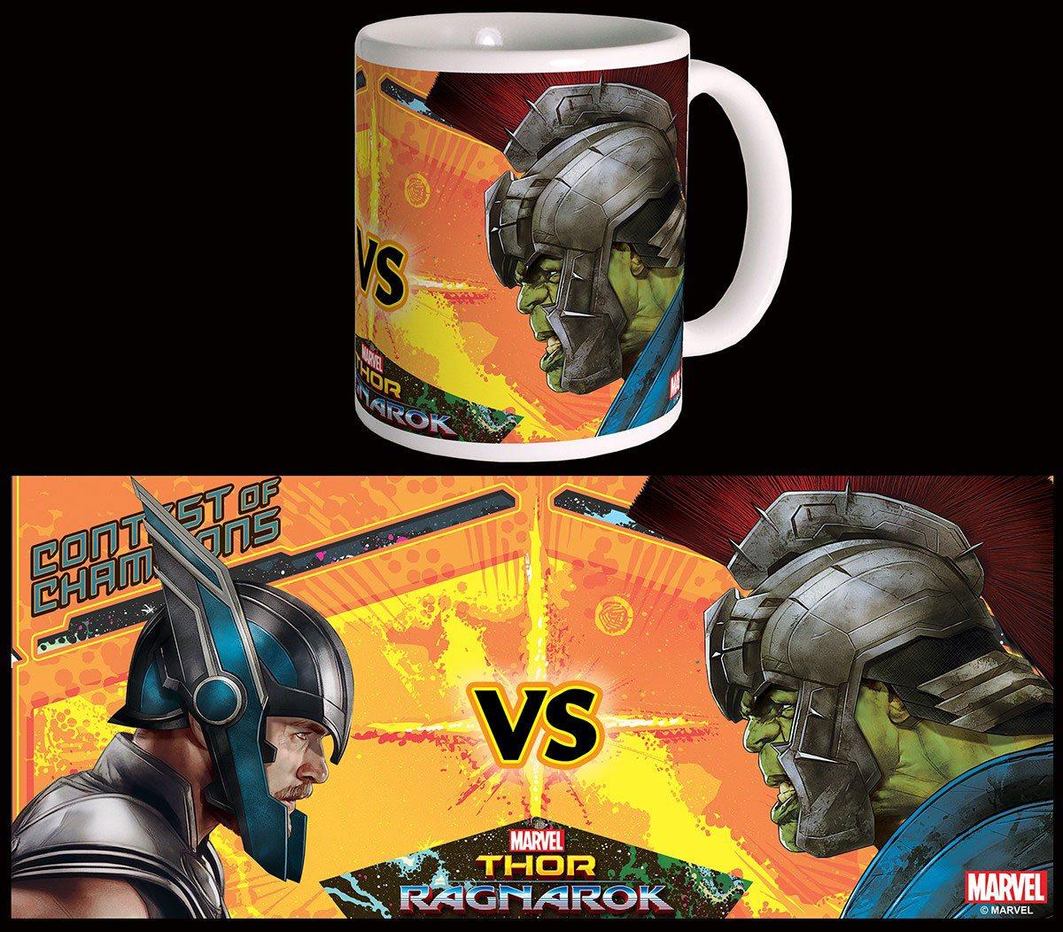 Thor Ragnarok Mug Versus