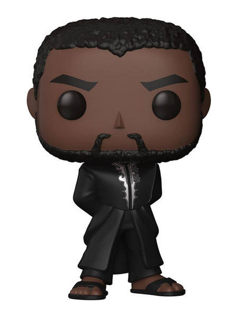 Black Panther POP! Vinyl Bobble-Head Black Panther T'Challa Robe (Black) 9 cm