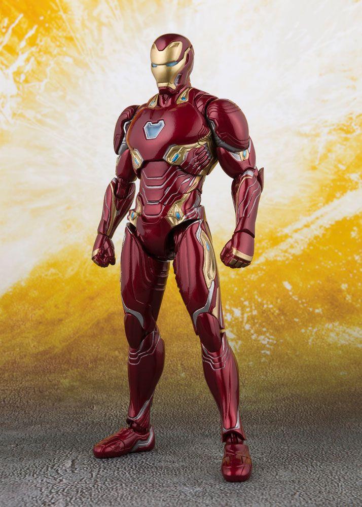Avengers Infinity War S.H. Figuarts Action Figure Iron Man MK 50 & Tamashii Stage 16 cm