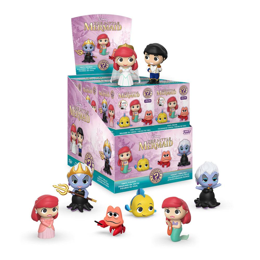 The Little Mermaid Mystery Mini Figures 5 cm Display (12)