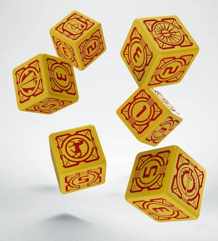 Battletech Dice Set D6 House Davion (6)