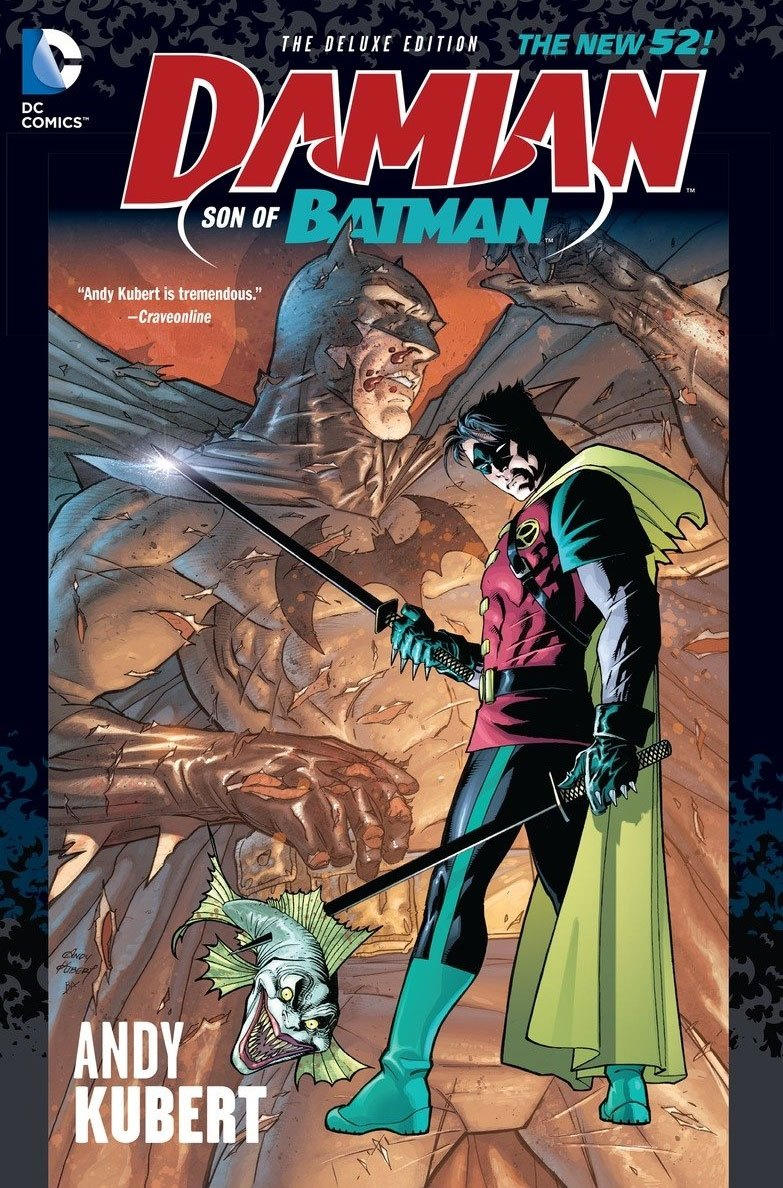 DC Comics Comic Book Damian Son Of Batman (The New 52) Deluxe by Andy Kubert english