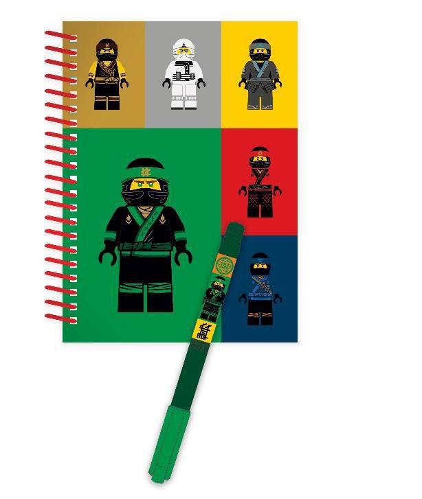 LEGO Ninjago Movie Notebook with Pen