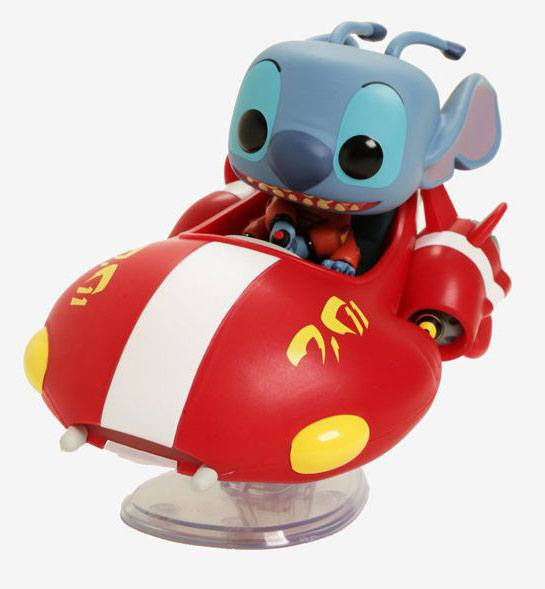 Lilo & Stitch POP! Rides Vinyl Figure The Red One Exclusive 15 cm