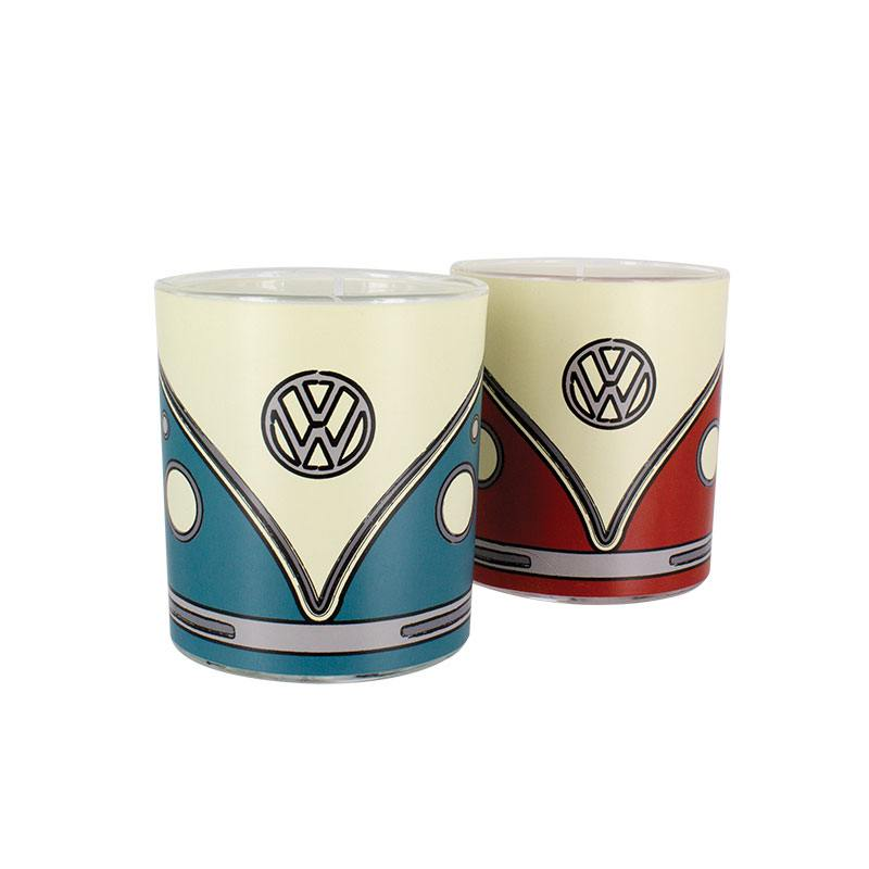 Volkswagen Drinking Glasses 2-Pack Campervan