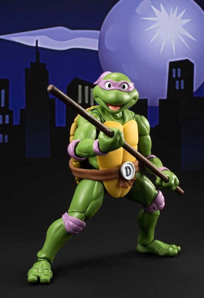 Teenage Mutant Ninja Turtles S.H. Figuarts Action Figure Donatello Tamashii Web Exclusive 15 cm