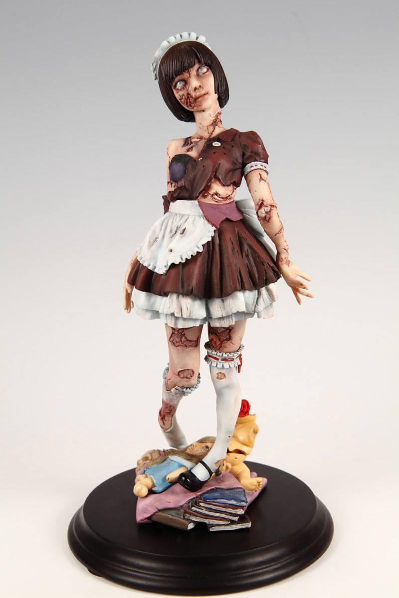 Kaitendoh Horror Figure Series Statue 1/8 Zombie Girl 22 cm